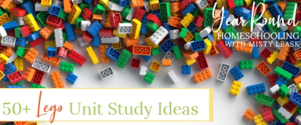 lego unit study, lego unit study ideas, lego unit