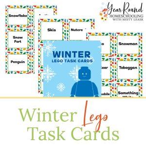 winter lego task cards, winter lego task, winter lego cards, winter lego