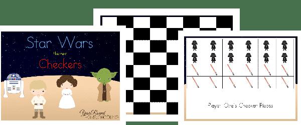 star wars checkers, checkers star wars