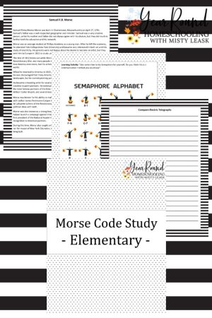 Morse Code Unit Study (Elementary)