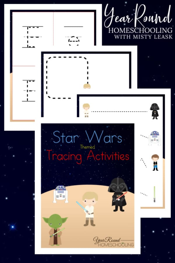 star wars tracing activities, tracing activities star wars