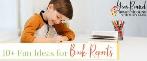 fun book report ideas, book report ideas, fun book reports
