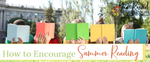 encourage summer reading, summer reading encourage, summer reading
