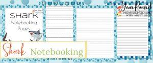 shark notebooking pages, shark notebooking, notebooking shark, notebook shark, shark notebook