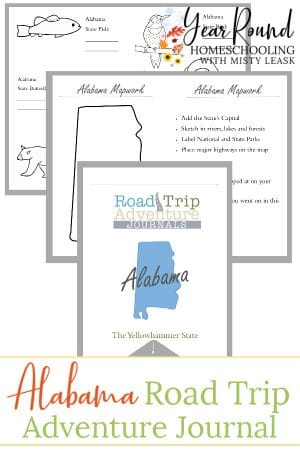 Alabama Road Trip Adventure Journal
