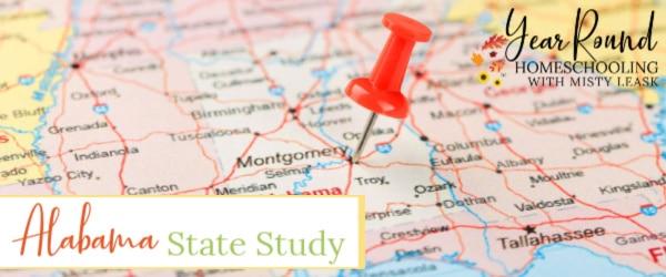 alabama state study, state study alabama, alabama unit, alabama study, study of alabama