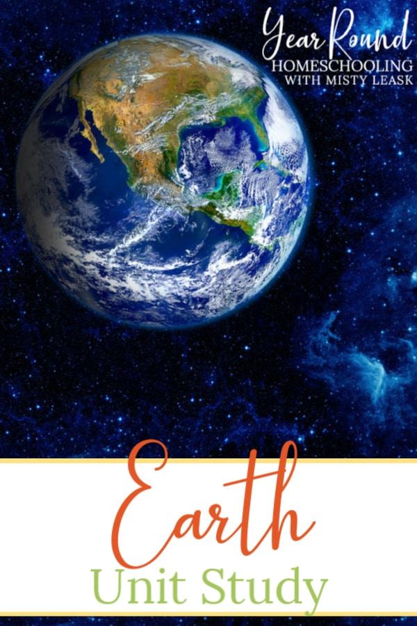earth unit study, earth study, earth unit, planet earth unit study, planet earth study, planet earth unit