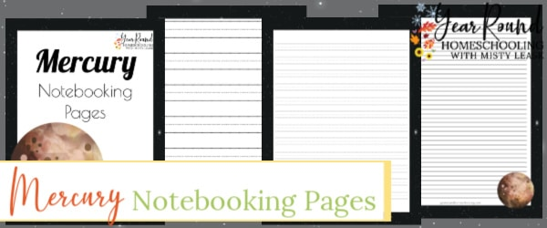planet mercury notebooking pages, planet mercury notebooking, planet mercury pages, mercury notebooking pages, mercury pages, mercury notebooking