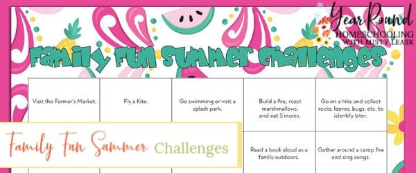 family fun summer challenges, family fun summer, family fun summer challenge calendar, family fun challenge, family fun calendar, family fun challenge calendar