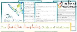 new homeschooler's guide, brand new homeschooler's guide, new homeschool guide, new homeschooler's workbook, brand new homeschooler's workbook