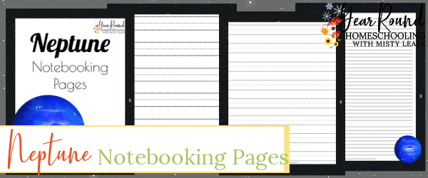 neptune notebooking pages, neptune notebooking