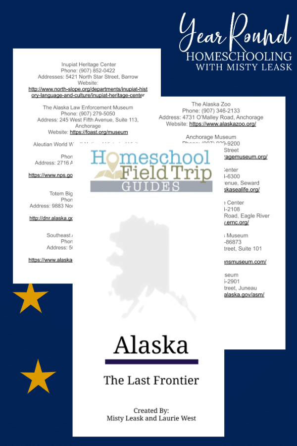alaska field trip guide, field trip alaska guide
