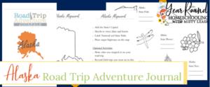 alaska road trip, alaska road trip journal, alaska road trip adventure journal