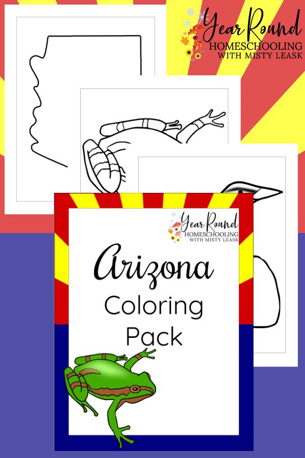 arizona coloring pages, arizona coloring
