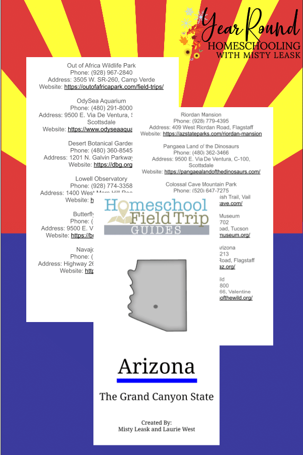 arizona field trip guide, field trip arizona guide