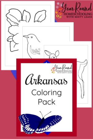 Arkansas Coloring Pages Pack