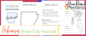arkansas road trip, arkansas road trip journal, arkansas road trip adventure journal