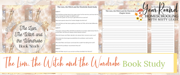 the lion the witch and the wardrobe book study, book study the lion the witch and the wardrobe, the chronicles of narnia book study, book study the chronicles of narnia, narnia book study, book study narnia