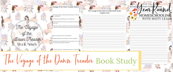 the chronicles of narnia book study, book study the chronicles of narnia, the voyage of the dawn treader book study, book study the voyage of the dawn treader
