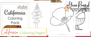 california coloring pages, california color