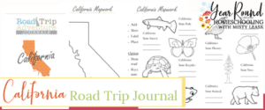 california road trip, california road trip journal, california road trip adventure journal
