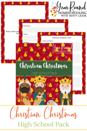 Christian High School Christmas Pack