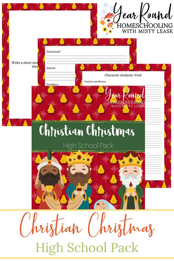 High School Christian Christmas, Christian Christmas High School, Christian Christmas High School Pack