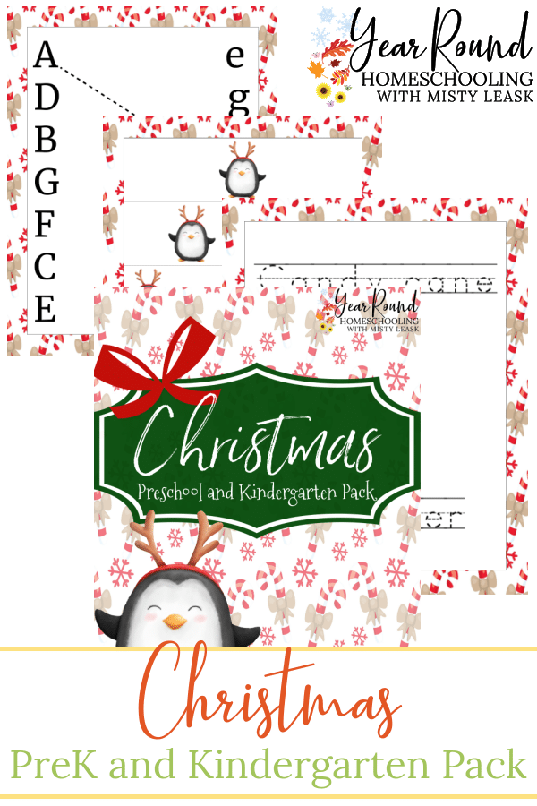 Christmas PreK and Kindergarten Pack, Christmas PreK Pack, Christmas Preschool Pack, Christmas Kindergarten Pack