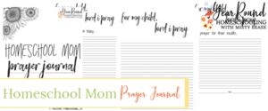 homeschool mom prayer journal, prayer journal for homeschool moms, prayer journal homeschool mom