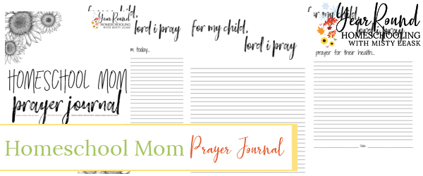 homeschool mom prayer journal, prayer journal for homeschool moms, prayer journal homeschool mom
