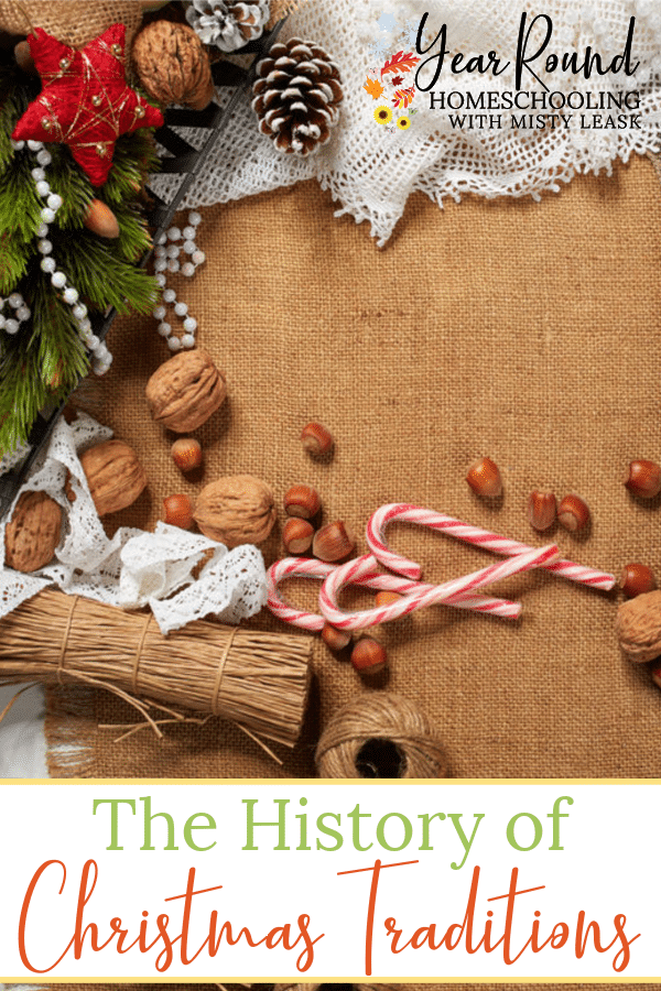history of Christmas traditions, Christmas traditions history