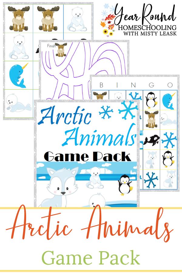 arctic animals game pack, arctic animals game, arctic animals games