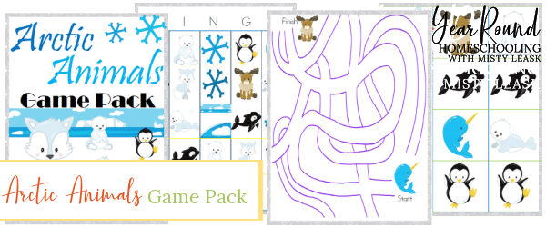 arctic animals game pack, arctic animals game, arctic animals games