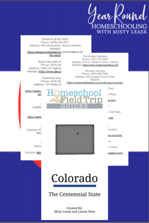 Digital Colorado Field Trip Guide
