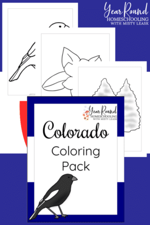 Colorado Coloring Pages Pack