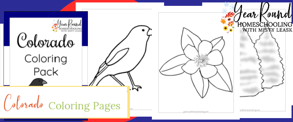 colorado color, colorado coloring pages, coloring pages colorado