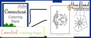 connecticut coloring pages, connecticut color, connecticut coloring, connecticut coloring pack