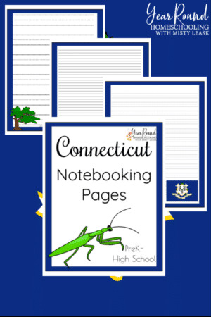 Connecticut Notebooking Pages Pack