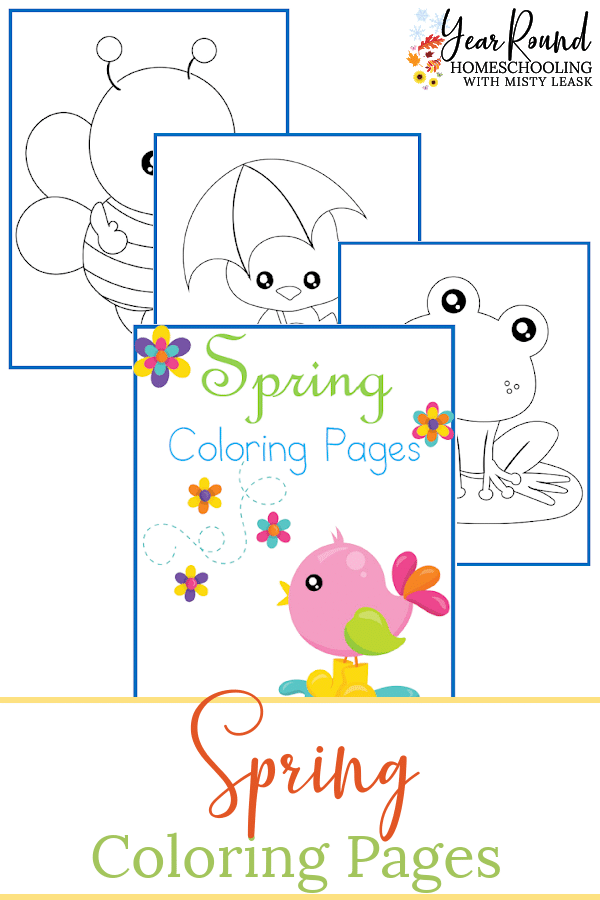 spring coloring pages, spring coloring, spring color