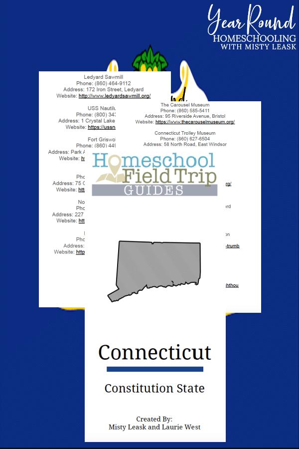 connecticut field trip guide, field trip guide connecticut, fields trips connecticut, connecticut field trips