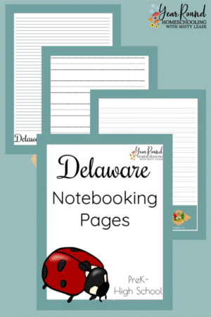 Delaware Notebooking Pages Pack