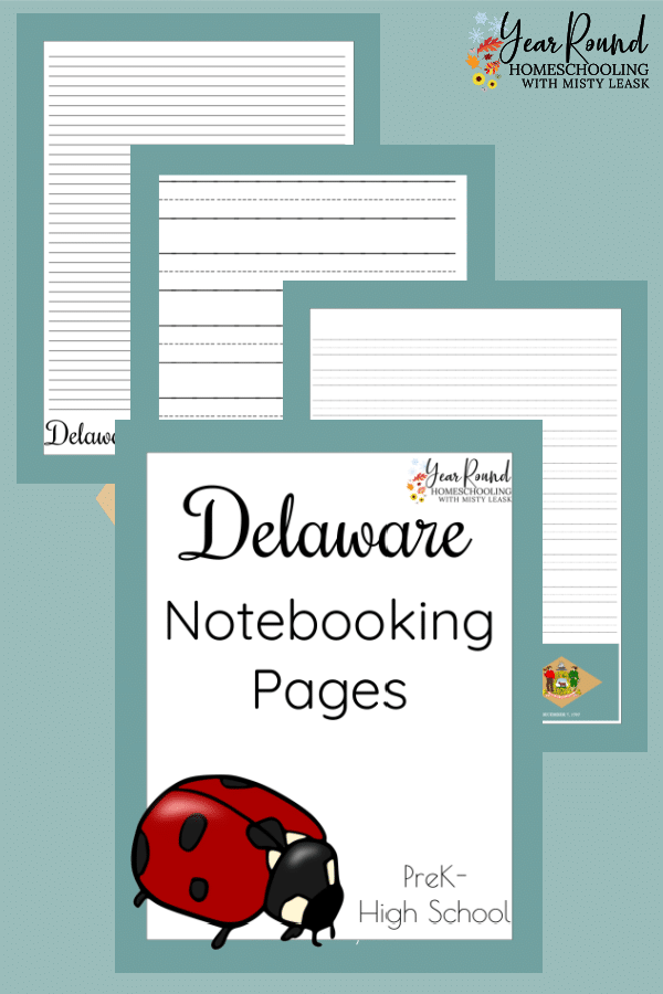 delaware notebooking pages, notebooking pages delaware, delaware notebooking