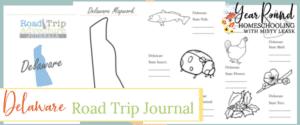 delaware road trip, delaware road trip journal, delaware road trip adventure journal