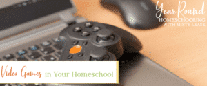 how to use video games in your homeschool, using video games in your homeschool, video games homeschool, homeschool video games