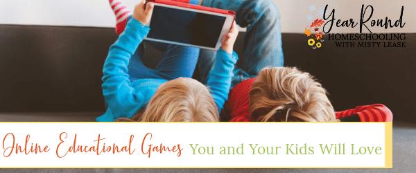 online educational games, online educational games kids love, educational online games
