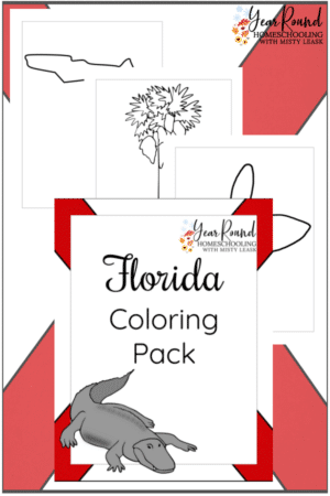 Florida Coloring Pages Pack