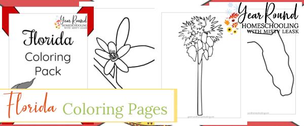 florida color, florida coloring pages, coloring florida