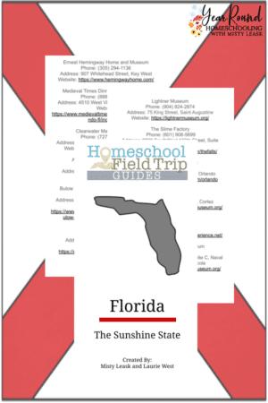 Digital Florida Field Trip Guide