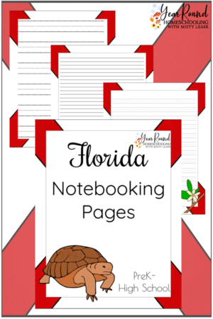 Florida Notebooking Pages Pack