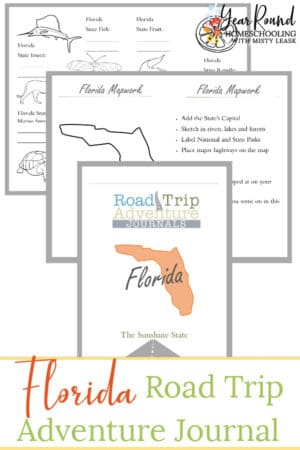 Florida Road Trip Adventure Journal